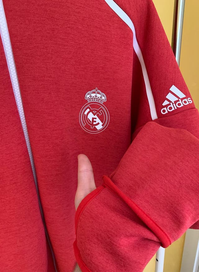 Sudadera Adidas - Real Madrid.