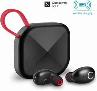 Auriculares Bluetooth Inalambricos USB-C, Qi
