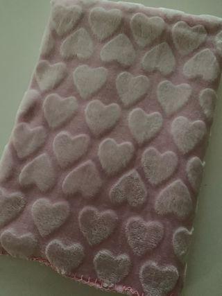 Manta coralina rosa