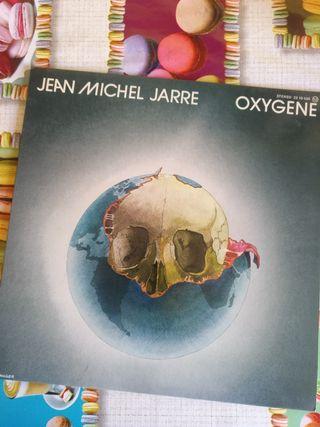 "Disco vinilo de JEAN MICHEL JARRE ""OXIGENO"""