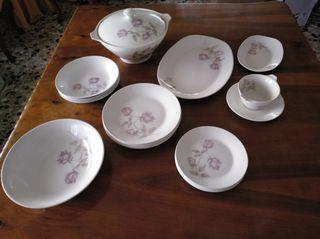 Vajilla porcelana Royal China