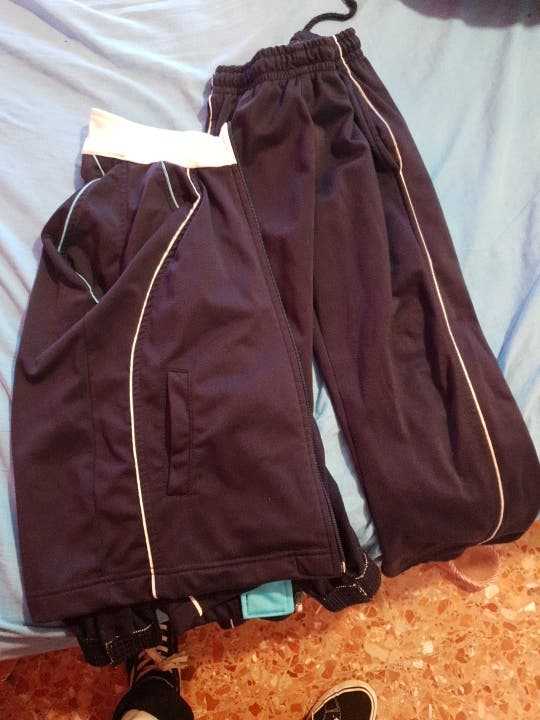 chandal uniforme dominicas