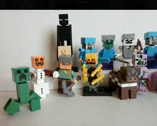 Lote figuras Minecraft