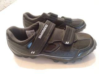 zapatillas mtb shimano. talla 42