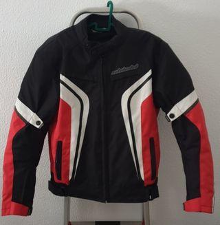chaqueta moto hombre