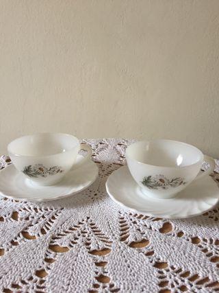Set tazas de té