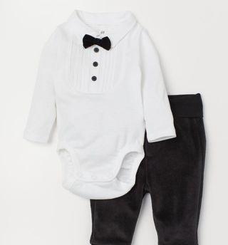 Body pajarita bebé de 0-1 mes (talla 50)