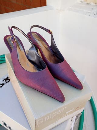 zapatos vestir n°37 usados dos veces