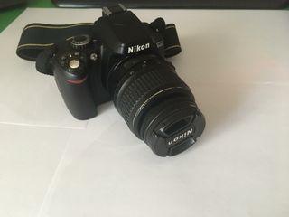 Cámara de fotos digital Nikon D40