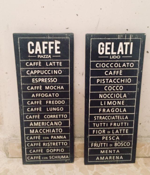 Cuadros Ikea Caffè y Gelati