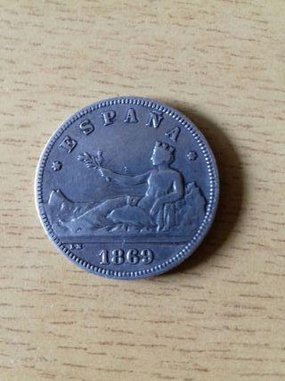 2 pesetas 1869