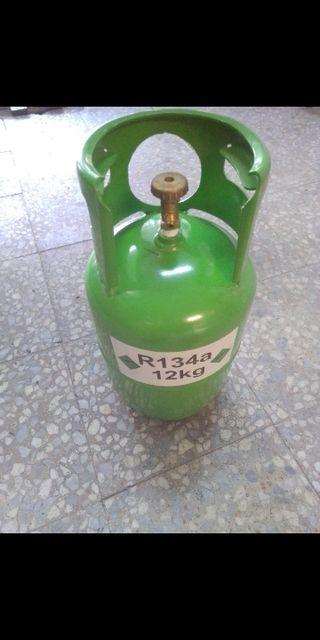 envase vacio de gas refrigerante