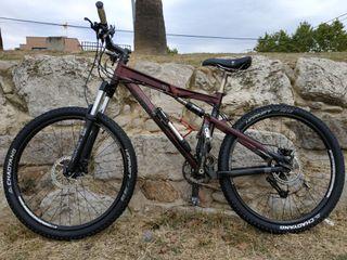 bicicleta montaña rockrider 9.1 M mejorada