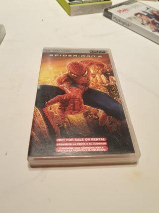 Spider-man 2 UMD video PSP