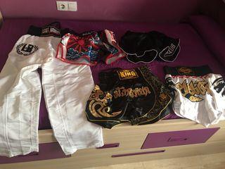 Pantalones de Thai , kick y full contac.