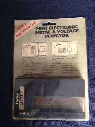 Detector de metales pared