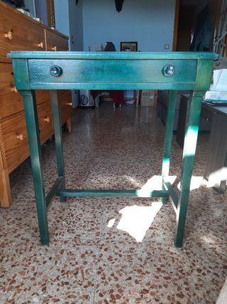 Mesa de Ajedrez pintada a mano