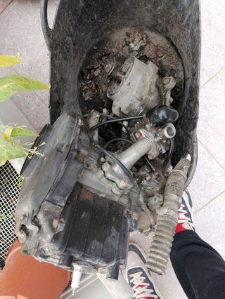 motor completo de Suzuki katana aire