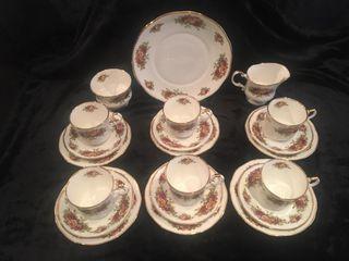 Servicio de té auténtico inglés Elizabethan