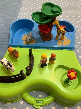 Maletín Zoo acuático playmobil
