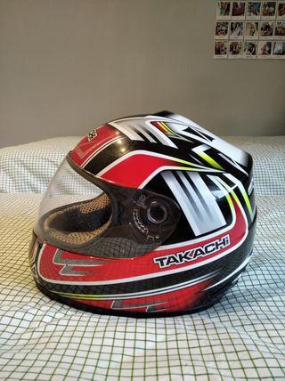 casco moto takachi talla M