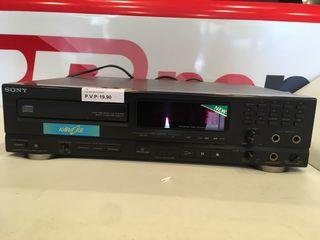 Equipo CD de Sony.