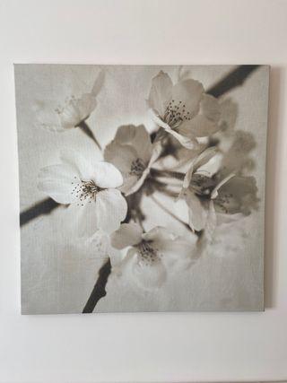 Set cuadros Ikea flores