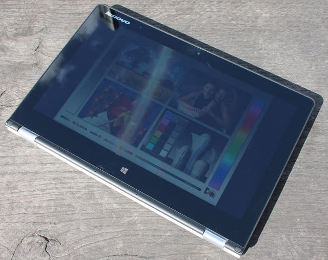 Lenovo Yoga I7 convertible tablet