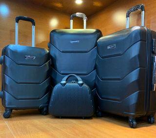 conjunto de maletas nuevas + neceser