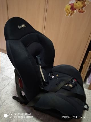 silla coche con isofix