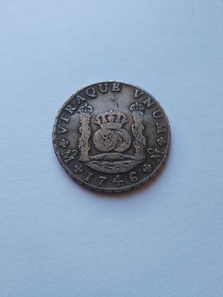 8 reales 1746 Felipe V México