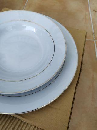 vajilla porcelana marca concentro