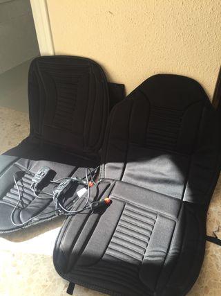 Funda asientos delanteros coche