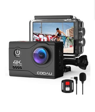 Camara Deportiva 4k 20MP WiFi Sumergible hasta 40