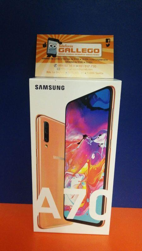 Samsung Galaxy a70 Pink