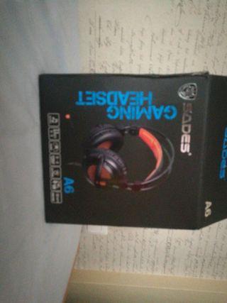 Auriculares Gaming Sades 7.1