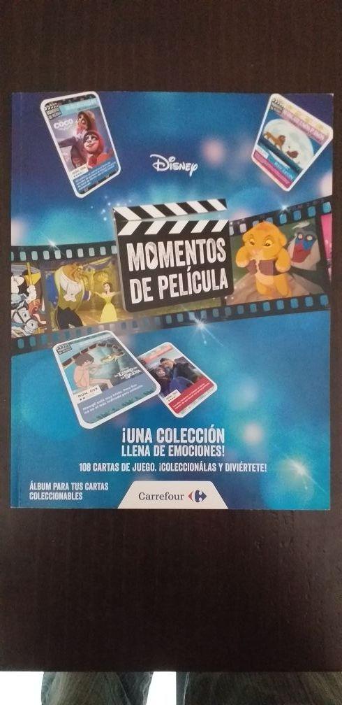 COLECCIÓN CARTAS DISNEY COMPLETA EN ALBUM.