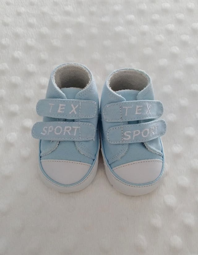 Zapatillas velcro puntera bebé (0-3 meses)