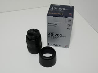 Objetivo micro 4/3 Panasonic Lumix 45-200