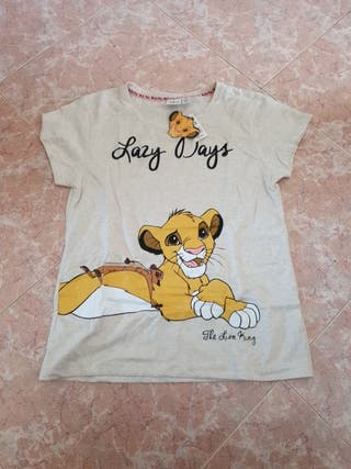 camiseta pijama rey leon