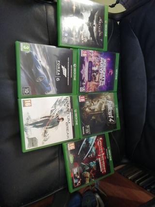 Lote Juegos Xbox One por 40€