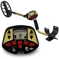 detector de metales fisher f4