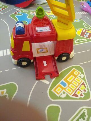 tut tut bólidos camión de bomberos