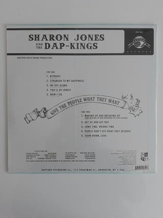 disco vinilo Sharon Jones & the Dap-kings - give..