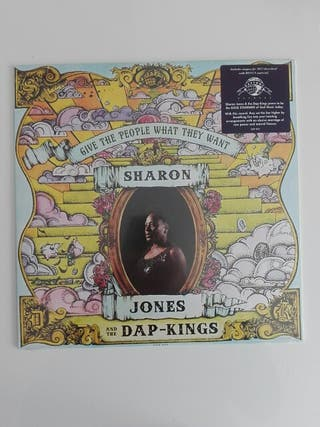 disco vinilo Sharon Jones & the Dap-kings - give..