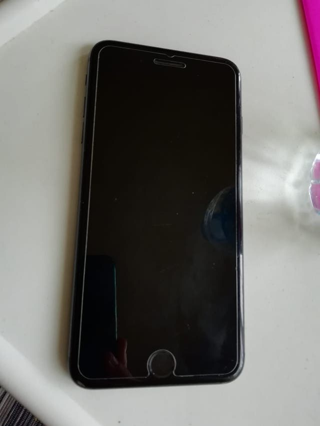 Iphone 8 plus negro mate