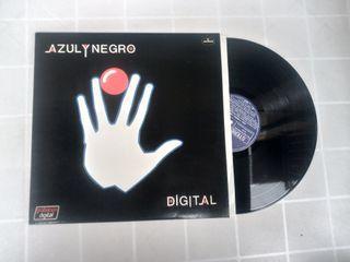 Vinilo LP AZUL Y NEGRO DIGITAL