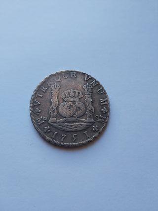 8 reales 1751 Fernando VI México