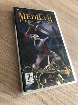 Medievil resurrection para psp Español