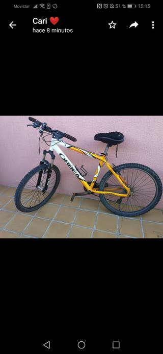 Oferta bicicleta Orbea Dakar